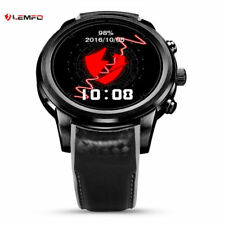 New LEMFO LEM5 Bluetooth Smart Watch SIM WIFI GPS 8GB Heart Rate For Android IOS