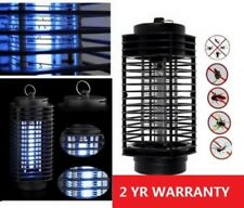 110V Electric Mosquito Fly Bug Insect Zapper Killer Night Light With Trap Lamp