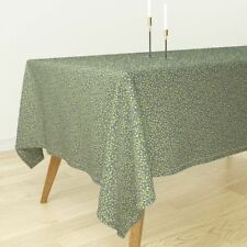 Tablecloth Vine Leaves Tendrils Calico Cotton Sateen