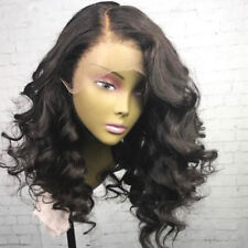 200% Density Wavy Lace Front Wigs Human Hair With Baby Hair Brazilian Hair Wigs