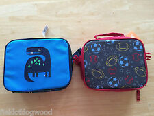 NWT Gymboree Boys Lunch Box Tote Bag School Dinosaur or sport Uniform Shop