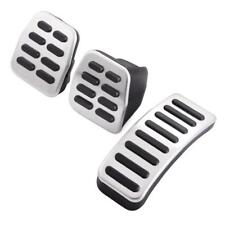 Stainless Steel Pedals MT/AT Pedal Covers For Seat Ibiza Fabia VW Polo Golf IV 4