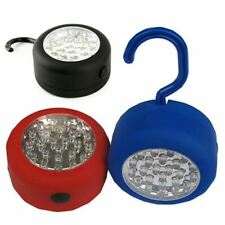 24 LED Round Magnetic Hanging Hook Work Light Torch Outdoor Camping Emergency La