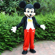 HOT Adult Mickey Mouse Mascot Costume Fancy Party Dress Halloween by USPS