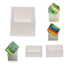 Cuboid/Cube Shape DIY Silicone Mold Mould Jewelry Making Casting Resin Craft