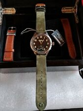 alpina heritage pilot watch, limited edition, reserve lowered