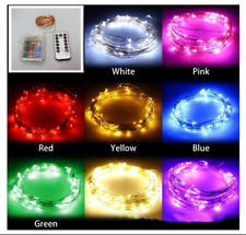 5/10M 50/100Led Waterproof Remote Control Battery Christmas Wedding Light String