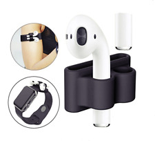 AIRPODS HOLDER SILICON APPLE AIR POD PROTECTIVE CASE SHOCKPROOF ANTI LOST HOLDER