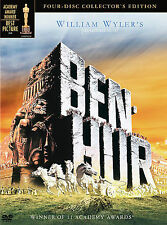 BEN-HUR. DVD, 4-Disc Set, Collector's Edition. Brand  new.