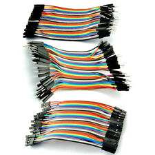 40Pcs 3 Type Male Female Dupont Wire Cables Jumper 10cm 2.54MM 1P For Arduino