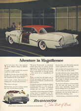 1956 Buick Roadmaster: Adventure in Magnificence Vintage Print Ad