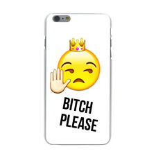 Boss Bitch Crown King Emoji Art Hard Cover Case For iPhone 10 Galaxy Huawei New
