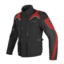 DAINESE TEMPEST D-DRY BLACK BLACK RED JACKET