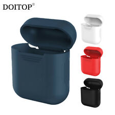 DOITOP Soft Silicone Case For Apple Airpods Shockproof Cover For Apple AirPods