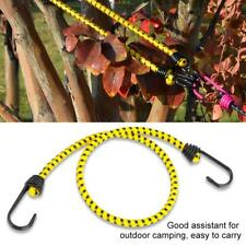 5Pcs Elastic Rope Buckle Tent Hook Cord Fastener Fixing Band Camping Outdoor