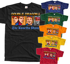 Double Dragon 3 Ending NES game T SHIRT BLACK RED ORANGE  ALL SIZES S-5XL