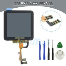 LCD Display Touch Screen Digitizer Assembly Replacement for iPod Nano 6 + Tools