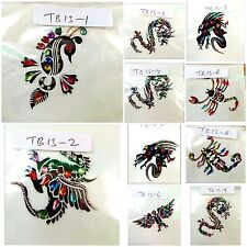 Temporary Tattoos Arm Body Art Tattoo Stickers Funky Fake Tattoo Decals