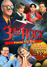 BRAND NEW - 3rd Rock from the Sun - Season 6 (DVD, 2013, 3-Disc Set) - SEALED
