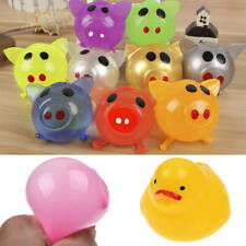1Pcs Jello Pig Cute Anti Stress Splat Water Pig Ball Vent Toy Venting Sticky