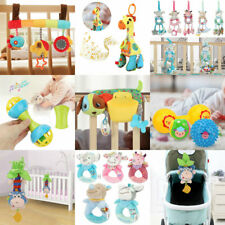 2019 Cartoon Infant Baby Shake Bell Rattles HOTborn Toys Hand Toy For Children
