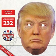 Donald Trump New Celebrity Card Face Mask Fast Dispatch New
