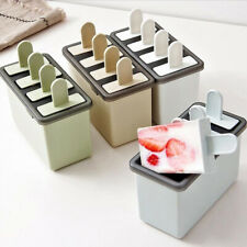 Ice Cream Mold Popsicle Maker Mould Silicone Tray Kitchen Freezer DIY Ice Cream