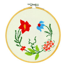 36/40cm Bamboo Frame Embroidery Hoop Ring DIY Cross Stitch Machine Loop Sewing L