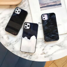 For iPhone 11 Pro Max XS XR 8 7 Plus Luxury Tempered Glass Back Hard Case Cover