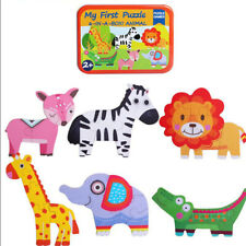 1 pc Wooden Jigsaw Puzzles Set Funny Lovely for Children Kids