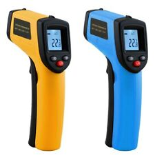Infrared Thermometer 380 Degree Celsius LCD Display Temperature Pyrometer IR