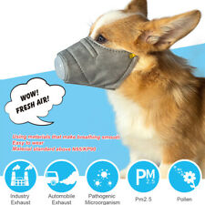 Pet Supplies Anti Pollution Dog Muzzle Mouth Mask Anti-fog Haze Masks Face Mask