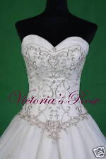 IN STOCK ML2134 WEDDING DRESS BRIDAL GOWN SIZE 8 - 22