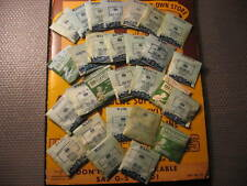 NOS Watch Crystals of Various Sizes For Bulova Watches