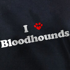 I LOVE BLOODHOUNDS T-SHIRT great bloodhound dog gift