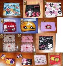 Character 4 x 3 or larger coin purses -Pick favorite1