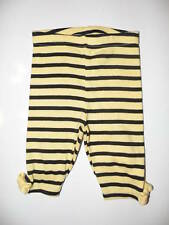 GYMBOREE CUTE AS CAN BEE YELLOW STRIPE LEGGINGS 0 3 6 12 18 24 NWT