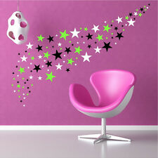 136 Peel And Stick Stars Stickers Removable Wall Decals