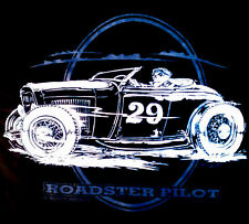 Rat Rod Hot Rod Roadster Pilot T-Shirt