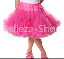 Girl Pettiskirt Skirt Dance Tutu Petticoat Party Toddler Kid Size 2T-7 PP001A