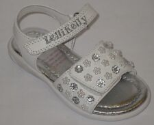 Lelli Kelly 8489 Bucaneve White Beaded Sandals shoe NEW Open Toe Pearl Easter