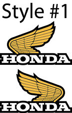 VINTAGE HONDA WINGS DECAL STICKER TRX CR XL 4 Styles