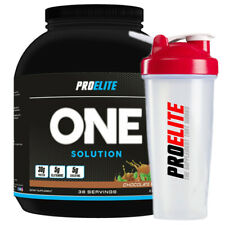 Pro Elite One Solution All In One Ababolic PROTEIN Powder 5lbs + FREE SHAKER