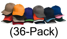 New Flexfit Hat Fitted Blank Baseball Cap 36-pack, 6277