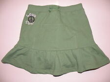 GYMBOREE DANCE TEAM GREEN LOVE PEACE KNIT SKORT 6 8 NWT