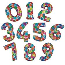 "41"" COLOURFUL MEGA FOIL BALLOON - NUMBER 0-9 AVAILABLE"