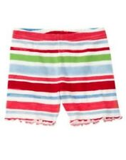 GYMBOREE BURST OF SPRING MULTI COLOR STRIPE BIKE SHORTS 3 6 12 18 24 2 3 4 5 NWT