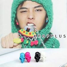 BIGBANG BIG BANG G-DRAGON - Vivid Color Skull Earring [BB28]