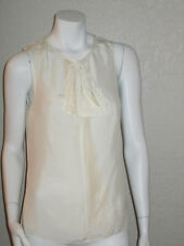 Juicy Couture Bow Blouse Top in Angel