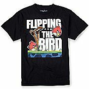 Angry Birds Tee ☆ Flipping the Bird t-shirt ☆ Officially Licensed ☆ Men's S,M,L